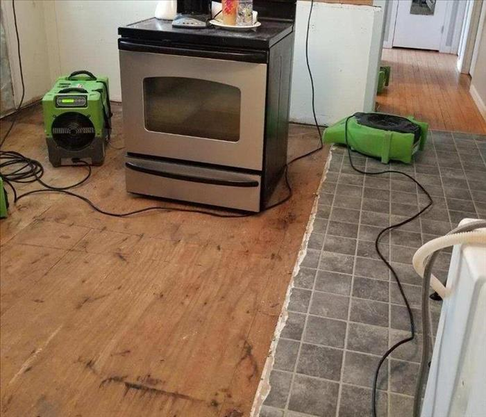 Appliance Malfunction In Kitchen Causes Substantial Water Damage After
