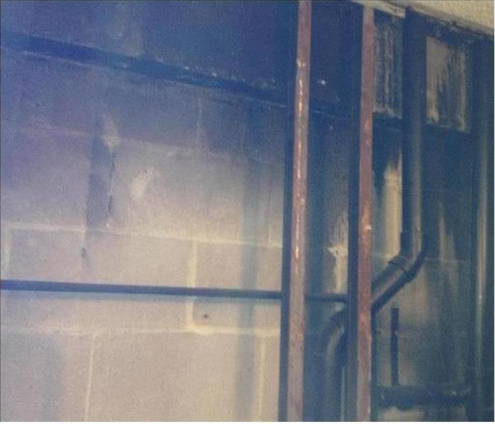 Commercial Fire Damage - Brattleboro Office Building Before
