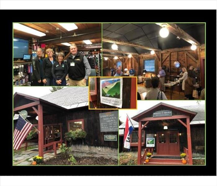 collage of pictures from chamber after hours