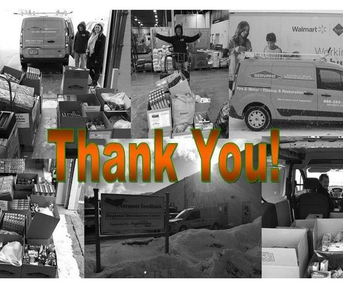 Community The 2016 SERVPRO CWWC Food Drive Results!