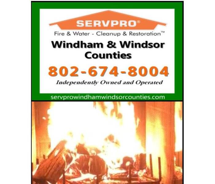 Why SERVPRO Fire Safety Tips- Using Your Fireplace Safely
